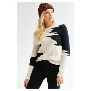 ECOTE ABSTRACT CREWNECK SWEATER